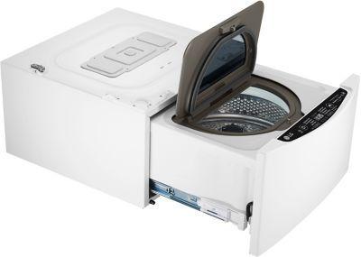 Lg Twinwash Fm27k5wh Lave Linge Compact En 2020 Lave Linge Hublot Lave Linge Machine A Laver Le Linge