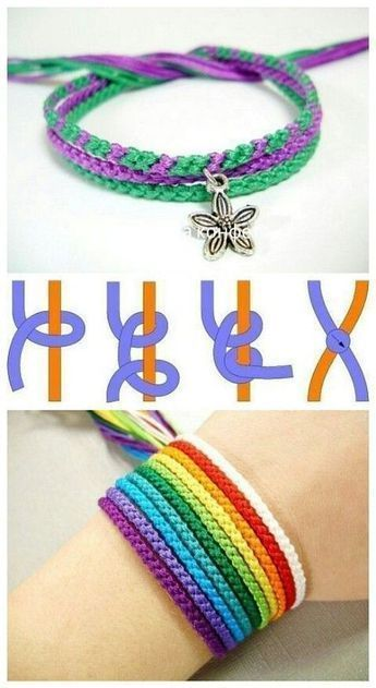 Creating Awesome Homemade Cozy Diy Does Not Require Serious Artistic Talent Get Inspired With These Ro Diy Bracelets Easy Bracelet Crafts Homemade Bracelets