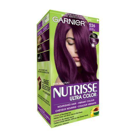 Garnier Nutrisse Ultra Color 526 Deep Lilac Deep Lilac Dark Hair