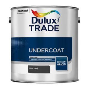 Dulux Trade Dark Grey Metal Wood Undercoat 2 5l In 2020 Dulux Trade Egg Shells Gloss Paint