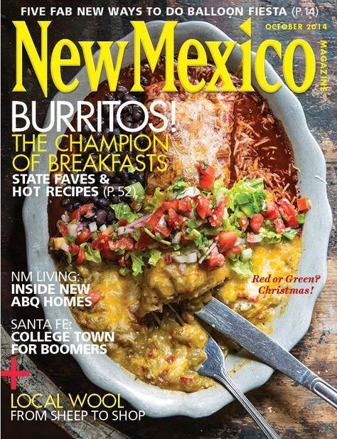 Our October 2014 cover. Enjoy breakfast burrito #recipes! http://mynm.us/breakfastburritorecipe