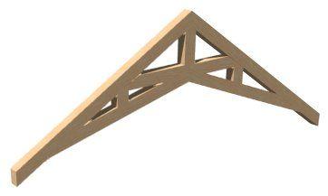 Scissor Truss Exposed Trusses Cathedral Ceiling Roof Truss Design