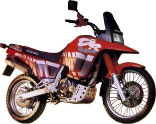 Suzuki Dr650 History Page