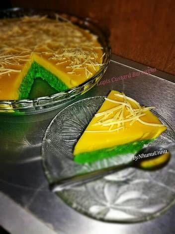 Resep Lapis Custard Barongko Oleh Nhunu Kitchen Resep Makanan Makanan Minuman Resep Masakan