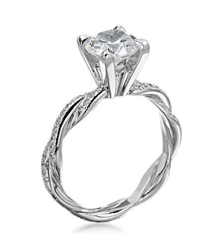 Michael C. Fina - Infinity Platinum Diamond Setting