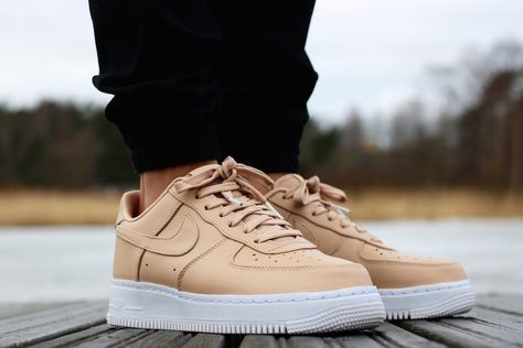 Another Nike Air Force 1 Low Premium in Vachetta Tan is