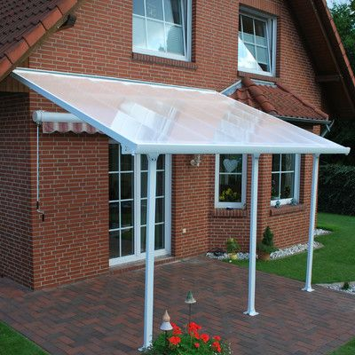 Palram Feria 10ft H X 14ft W D Patio Cover Awning Reviews Outdoor Design Pinterest Patios