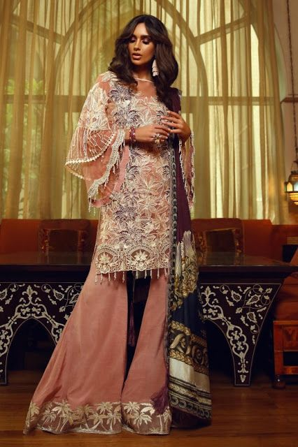Fashionile Faraz Manan Luxury Collection 2018 Festival Outfits Pakistani Dress Design Top Design Fashion