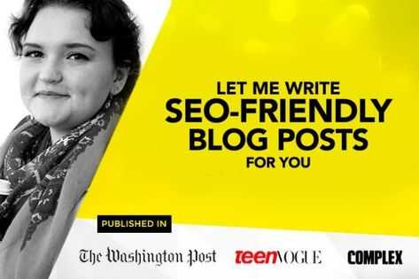 I will write SEO friendly content and blog posts