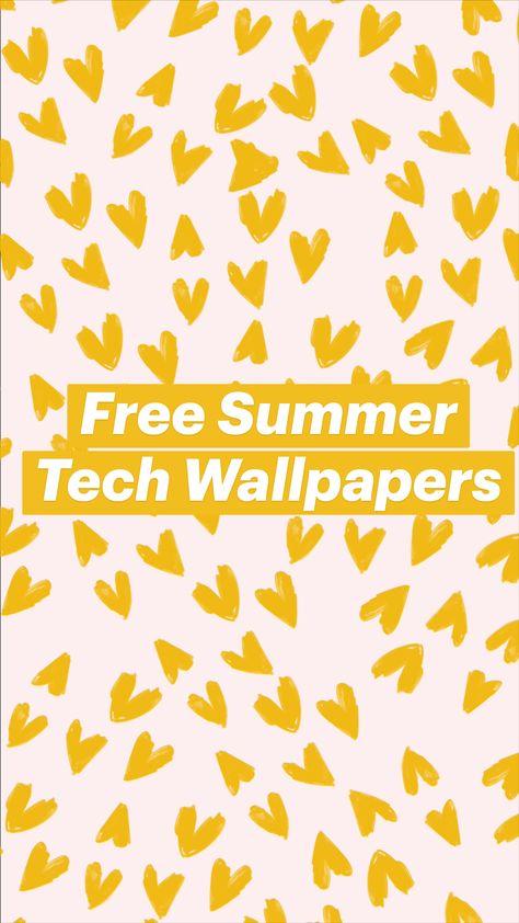 Free Summer Tech Wallpapers