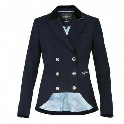 I feel like this is probably very flattering on. ✨ Camilo Ladies Show Jacket | Kingsland Dressage #equestriangeardressage #horseridingstyle,equestrianfashion,equestrianlifestyle,equestrianclothing,horseridinggear,horseridingclothes,horsebackriding,horseridinglessons,horsejumping,horsesupplies,horsetraining,horseaccessories
