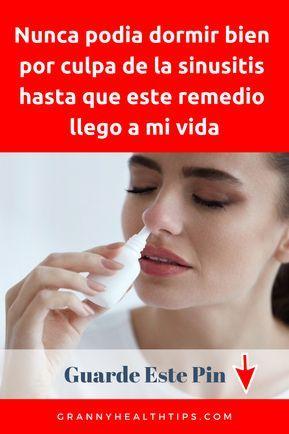 cual es el mejor remedio casero para la sinusitis