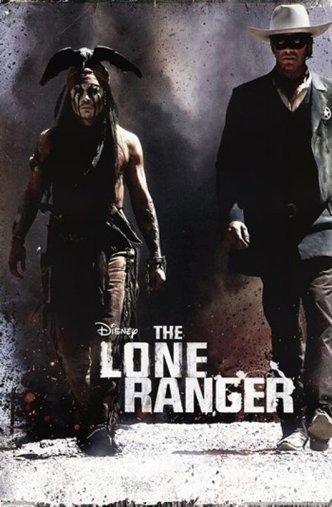 The Lone Ranger - One Sheet Poster Print (24 x 36)