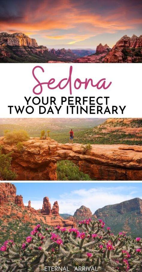 Arizona Road Trip, Arizona Travel, Sedona Arizona, Travel Usa, Travel Tips, Train Travel, Travel Hacks, Travel Packing, Travel Essentials
