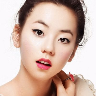 Top 10 Cutest Female Idols With Single Eyelids Ningin Sohee Korean Asian Makeup Korean Eye Makeup Natural Eye Makeup