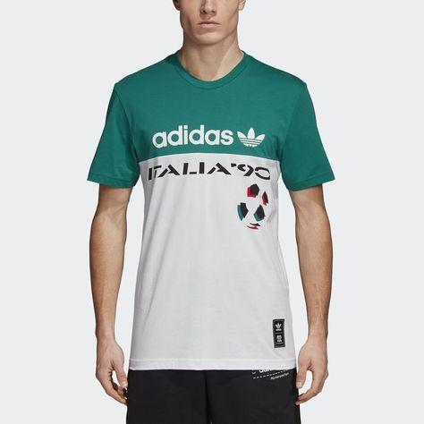 adidas italia 90 t shirt