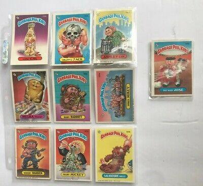 1986 Garbage Pail Kids Topps Original Series 10 Random Cards Ebay In 2020 Garbage Pail Kids Garbage Pail Kids Cards Kids Series