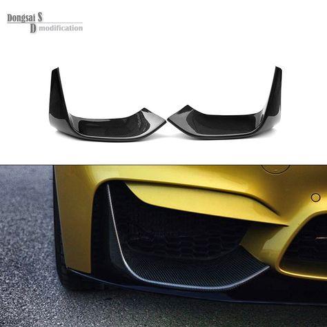 M3 Slim Style Carbon Fiber Trunk Spoiler Lip Wing Fit 2012-2018 BMW F30 3-Series