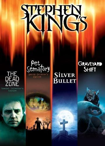 The Stephen King Collection ( Pet Sematary Special Collector's Edition / The Dead Zone Special Collector's Edition / Graveyard Shift / Silver Bullet) (1989/1983/1990/1985) - Default