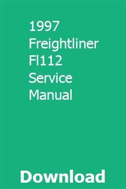 1997 Freightliner Fl112 Service Manual Freightliner Manual Minneapolis Moline