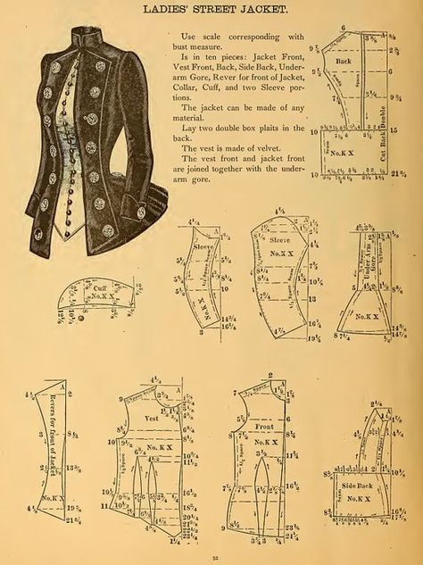Only $3.99 ~ PDF Book ~ Instant Digital Download. Download it direct to your iPad, tablet or computer for reading.    Victorian Garment Patterns 102 Pages of Patterns and Designs to print out and use. Victorian era circa 1888 Period Garment Patterns. 59 Patterns and all beautifully illustrated, a valuable reference resource for anyone interested in recreating authentic Victorian period clothing for theatre, costume parties or someone who wants to study the dressmaking methods and fashion tren...