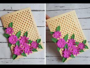 Youtube Cards Handmade Beautiful Handmade Cards Handmade Cards Diy
