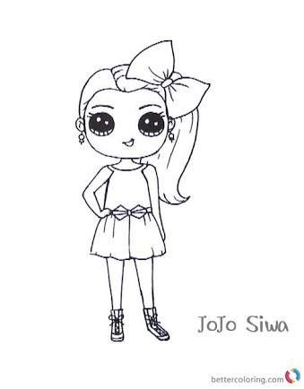 Jojo Siwa Unicorn Coloring Pages : unicorn, coloring, pages, Angelina, Bates, Stuff, Coloring, Pages,, Unicorn, Pages