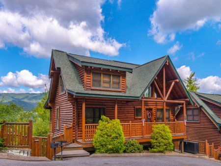 Pet Friendly Cabins In Gatlinburg And Pigeon Forge Offered By Cabins For You Reserve Online 24 7 Or Call 1 800 684 With Images Pet Friendly Cabins Gatlinburg Cabins Cabin