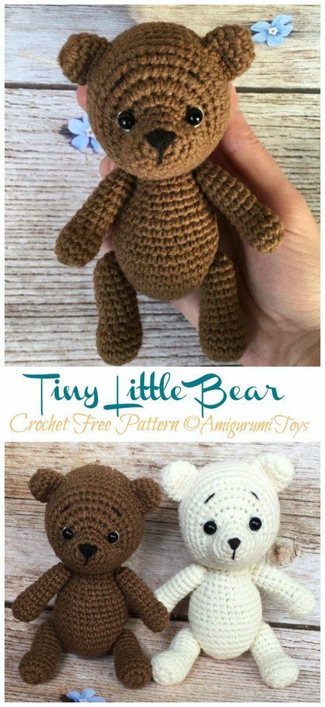 softie PATTERN soft toy crochet pattern of Teddy Baby Bear gift for kids