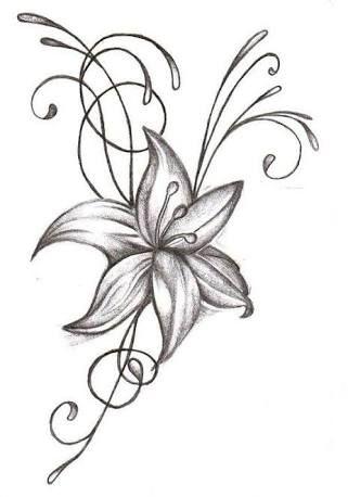 Image Result For Easy Drawings For Beginner Artists Flower Drawing Design Flower Sketches Jasmine Flower Tattoos