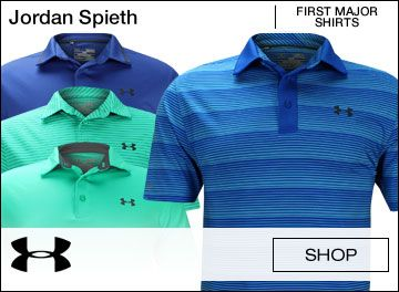 closer at los angeles differently Under Armour Jordan Spieth First Major Golf Shirts | pantone ...