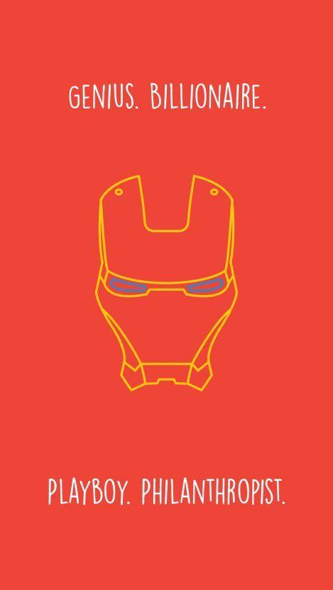 Iron Man Quote Minimal Iphone Wallpaper Iron Man Quotes Iron