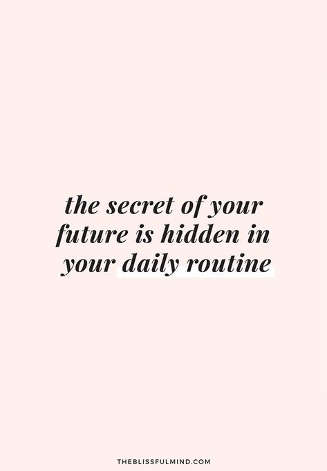 How To Create Intentional Routines In Your Life - The Blissful Mind