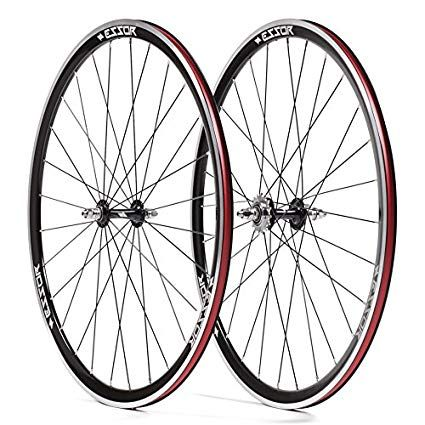 Essor Usa Bolt Aluminum Clincher Front Rear Track Wheel Set 700cm