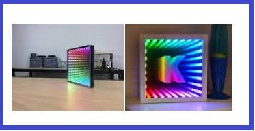 Envirementalb Com Part 2 In 2020 Mirrored Projects Infinity Mirror Infinity Mirror Diy