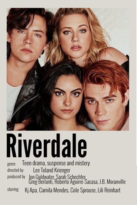 Movie poster riverdale