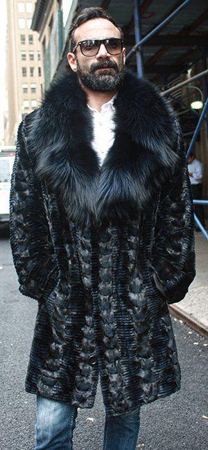 Fur Coats For Men   Männer jacken, Lederjacke männer und Jacken