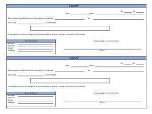 El Pagaré Ejemplos Y Formatos Descarga Gratis Milformatos Com Letra De Cambio Formato Carnet De Identificacion