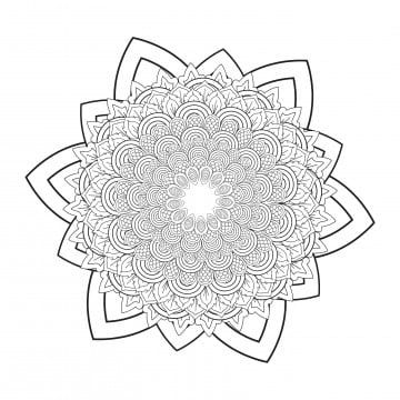 Flower Mandala Vintage Decorative Elements Oriental Pattern V 2019 Asian Background Png And Vector With Transparent Background For Free Download Flower Mandala Oriental Pattern Seamless Patterns