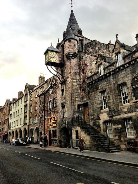 The Royal Mile, Edinburgh, Scotland Scotland Travel Destinations Royal Mile Edinburgh, Places To Travel, Places To Visit, Magic Places, Uk Destinations, Scotland Travel, Scotland Vacation, Scotland Tours, Reisen In Europa