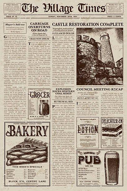 Tattle S Best Teller Newspaper Vintage Newspaper Newspaper Collage Newspaper Design
