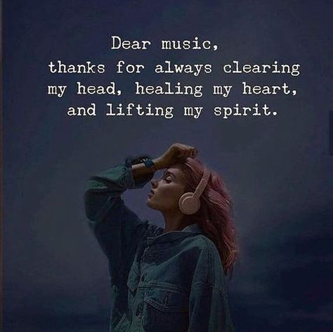 Music is the best medicine for clearing head, healing heart and lifting spirit. #Loveformusic #Musiclovers #Quotesaboutmusic #Happyquotes #Joyfulquotes #Dailyquotes #Lifequotes #therandomvibez
