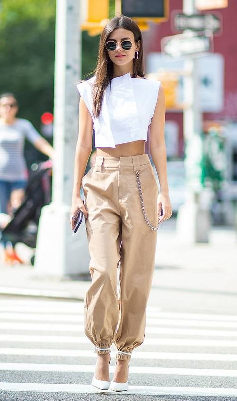 The L.A. Outfit Trend Every It Girl Is Wearing   Who What Wear