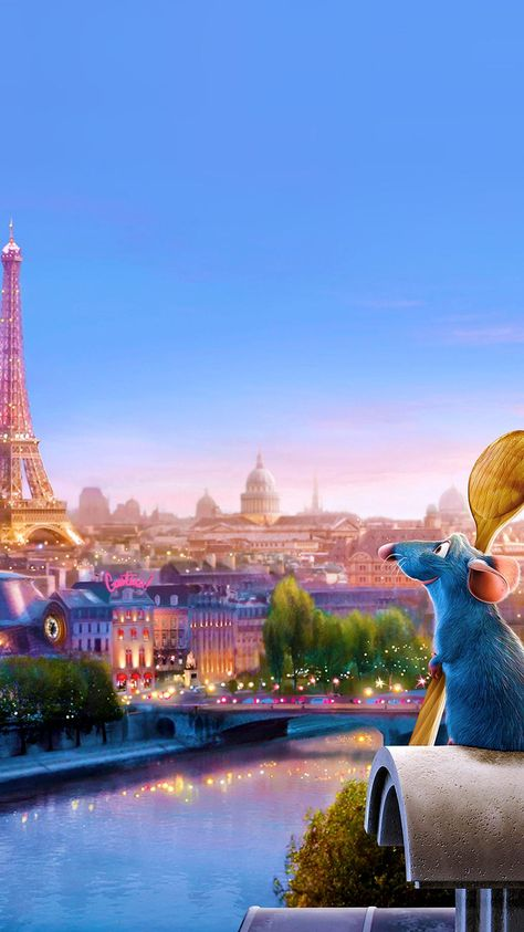 Ratatouille (2007) Phone Wallpaper | Moviemania