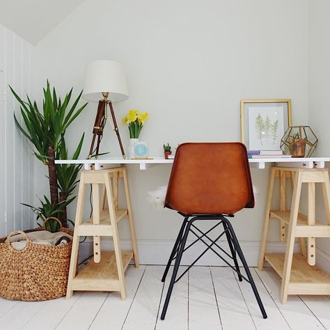 furniture meja belajar minimalis modern | ide dekorasi