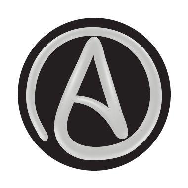 Circle Atheist Circle Atheist Emblem Car Emblem Atheist Symbol