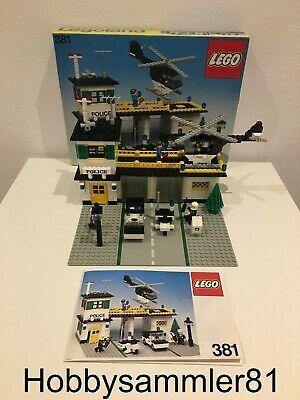 Lego 381 Legoland Police Headquarters Polizei Hauptquartier Lego Polizei Cooles Lego Legoland