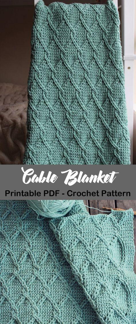 Make a Cozy Blanket,  #Blanket #Cozy #knittingcrochetpatterns