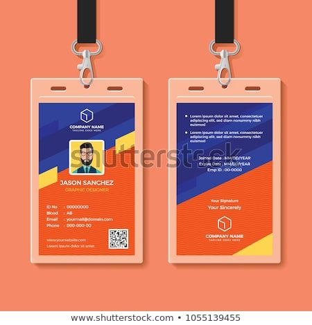 Creative Id Card Template Perfect For Any Types Of Agency Corporate Offices And Companies You Can Also Used Th Card Design Id Card Template Design Template