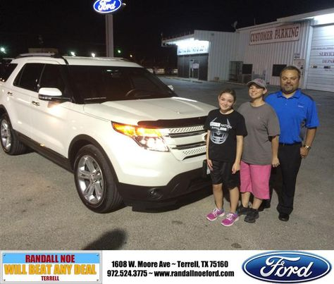 Randall Noe Ford >> Congratulations To Manuel Chavez On Your New Car Purchase